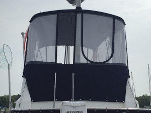 Sabre 36' Trawler Flybridge shades