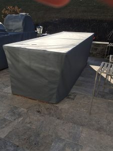 outdoor kitchen covers in Top Gun Seagull
